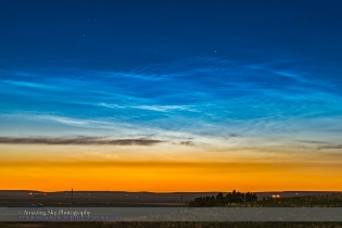 Noctilucent Clouds (June 17, 2016)