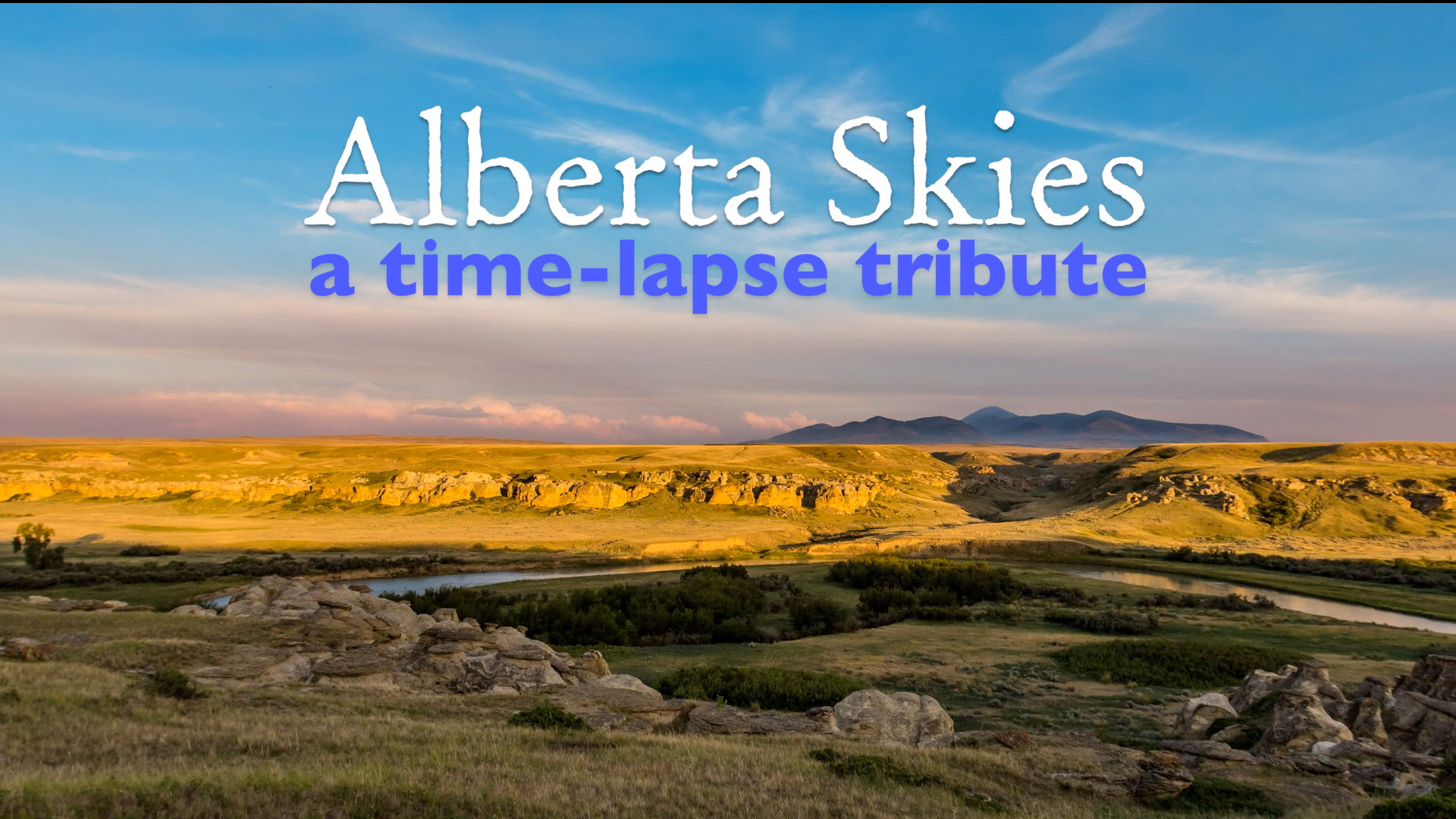 Alberta Skies Title