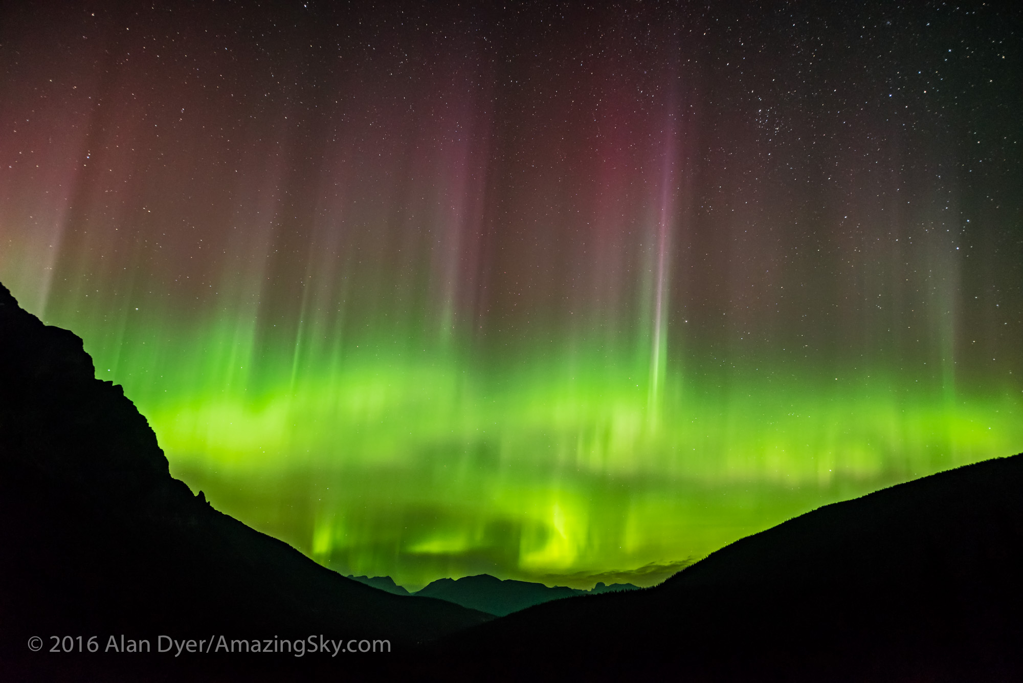 Aurora over Desolation Valley #2