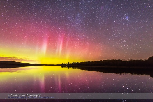 Aurora over Police Outpost Lake