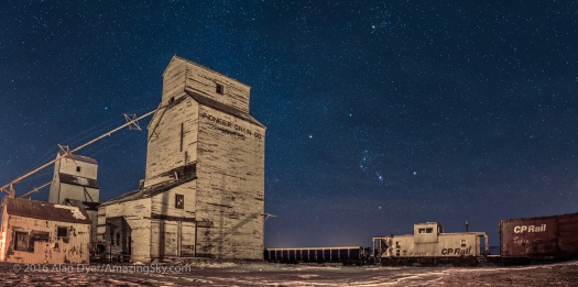 Orion and Pioneer Grain Elevators