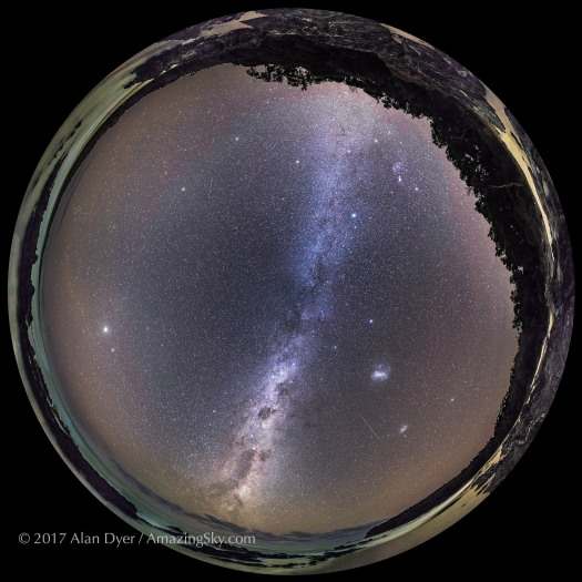 Southern Autumn Sky Panorama (Spherical)