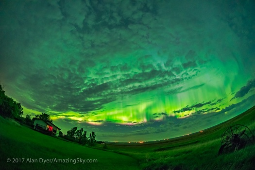 Great Aurora of May 27, 2017 – Wide-Angle v3