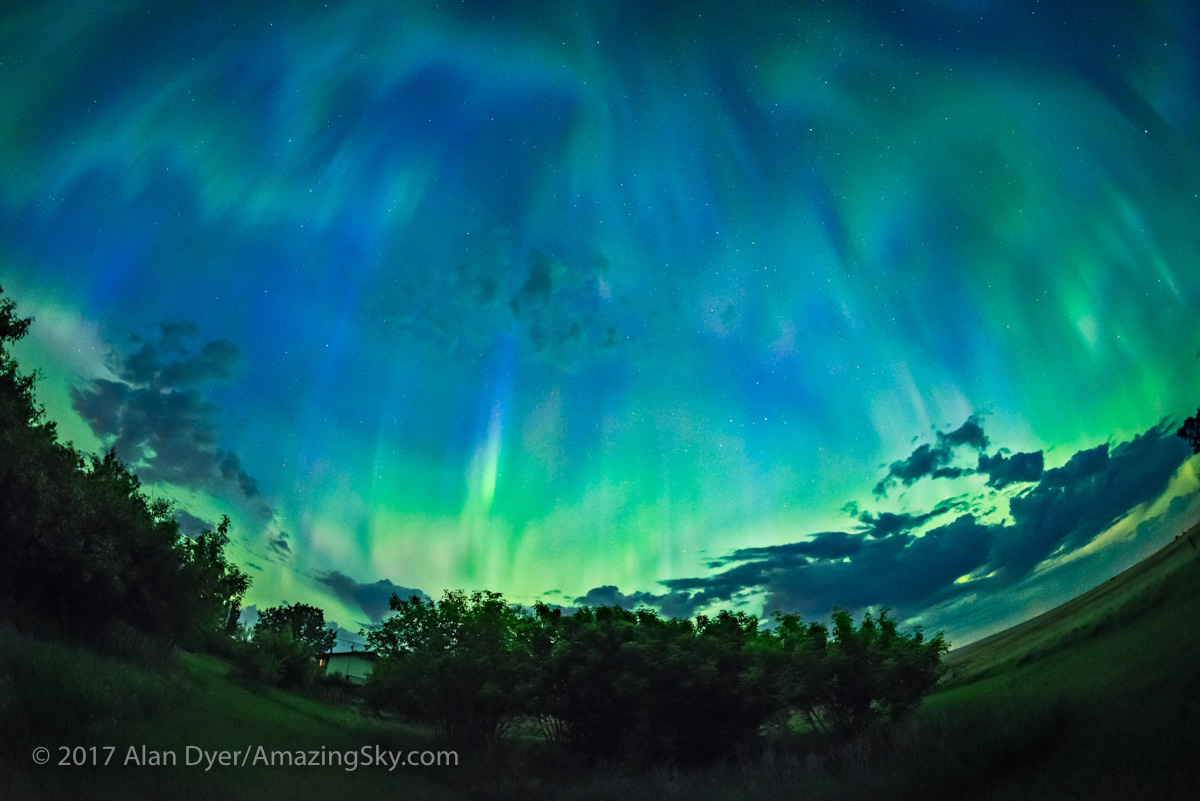 Great Aurora of May 27, 2017 – Wide-Angle v5