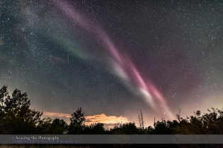 Isolated Auroral Arc #4 (Sept 2, 2016)