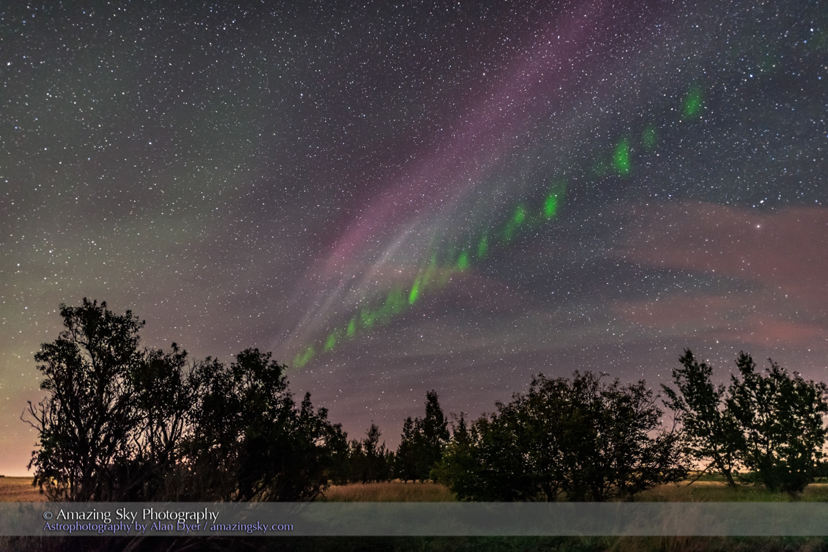 Isolated Auroral Arc #5 (Sept 2, 2016)