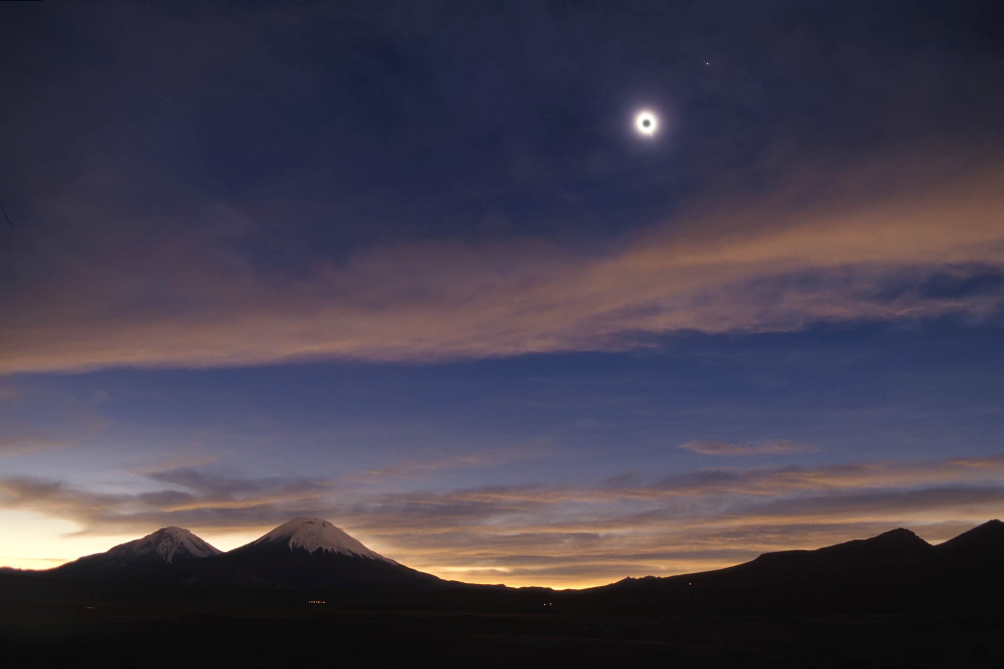 Total Eclipse from Chile
