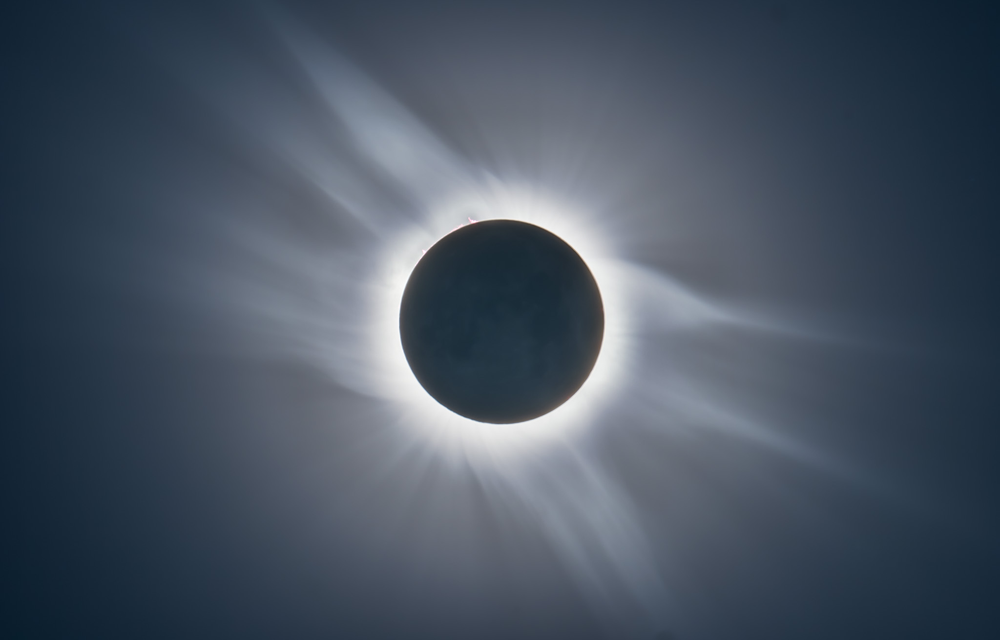 Total Eclipse from Libya 2006