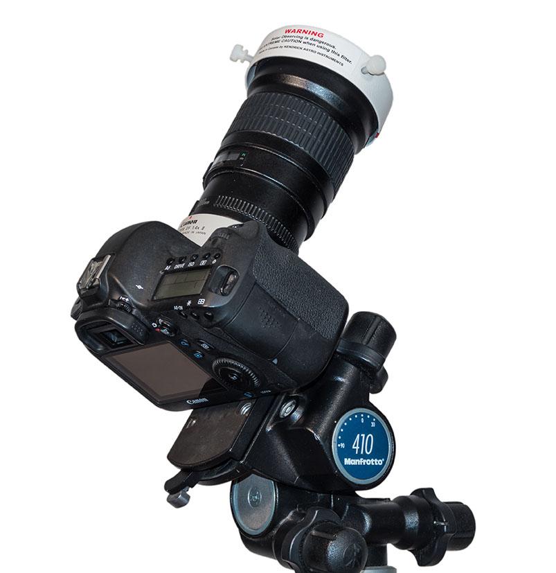 TIP7-200mm Lens on Tripod