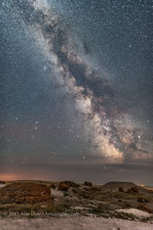 The Milky Way at Red Rock Coulee