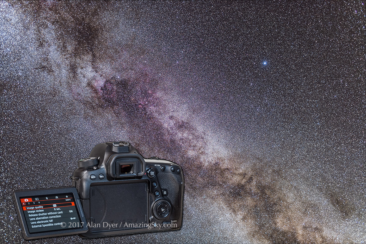 Testing the Canon 6D Mark II for Deep-Sky – The Amazing Sky