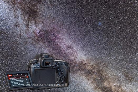 6D MkII on Cygnus