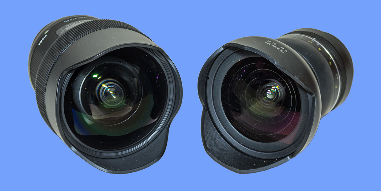 Sigma 14mm & Rokinon 14mm SP (Front)