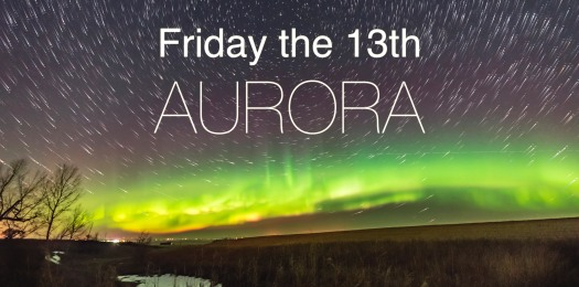Friday the 13th Aurora Title