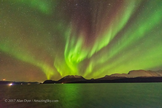 Nordlys Auroral Red Curtains #1
