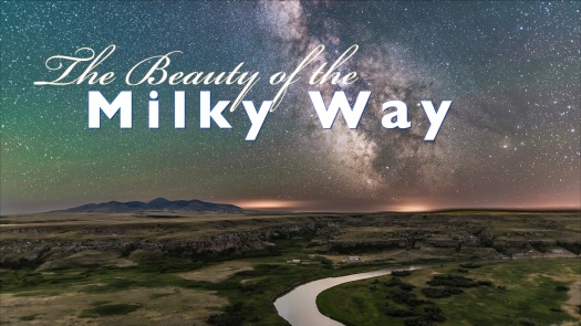 Beauty of Milky Way Title