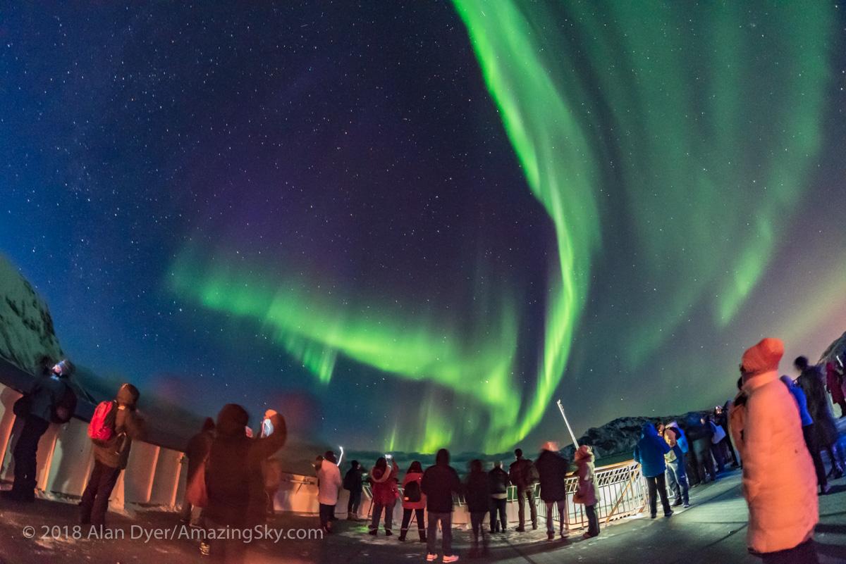 Aurora Watchers on m/s Nordnorge #1