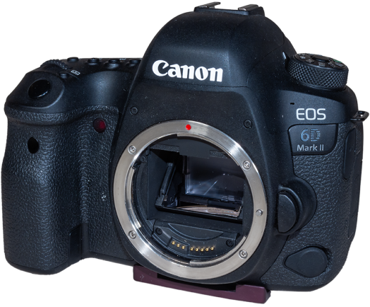 Canon 6D MkII Angled Front