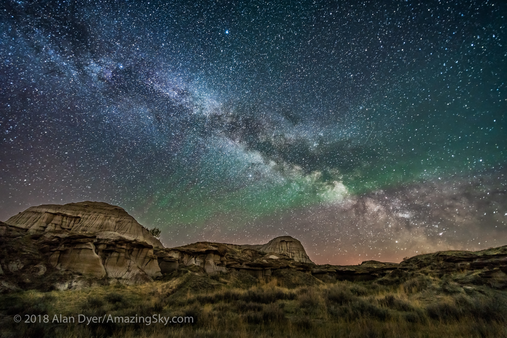 Milky Way Rising at Dino Park