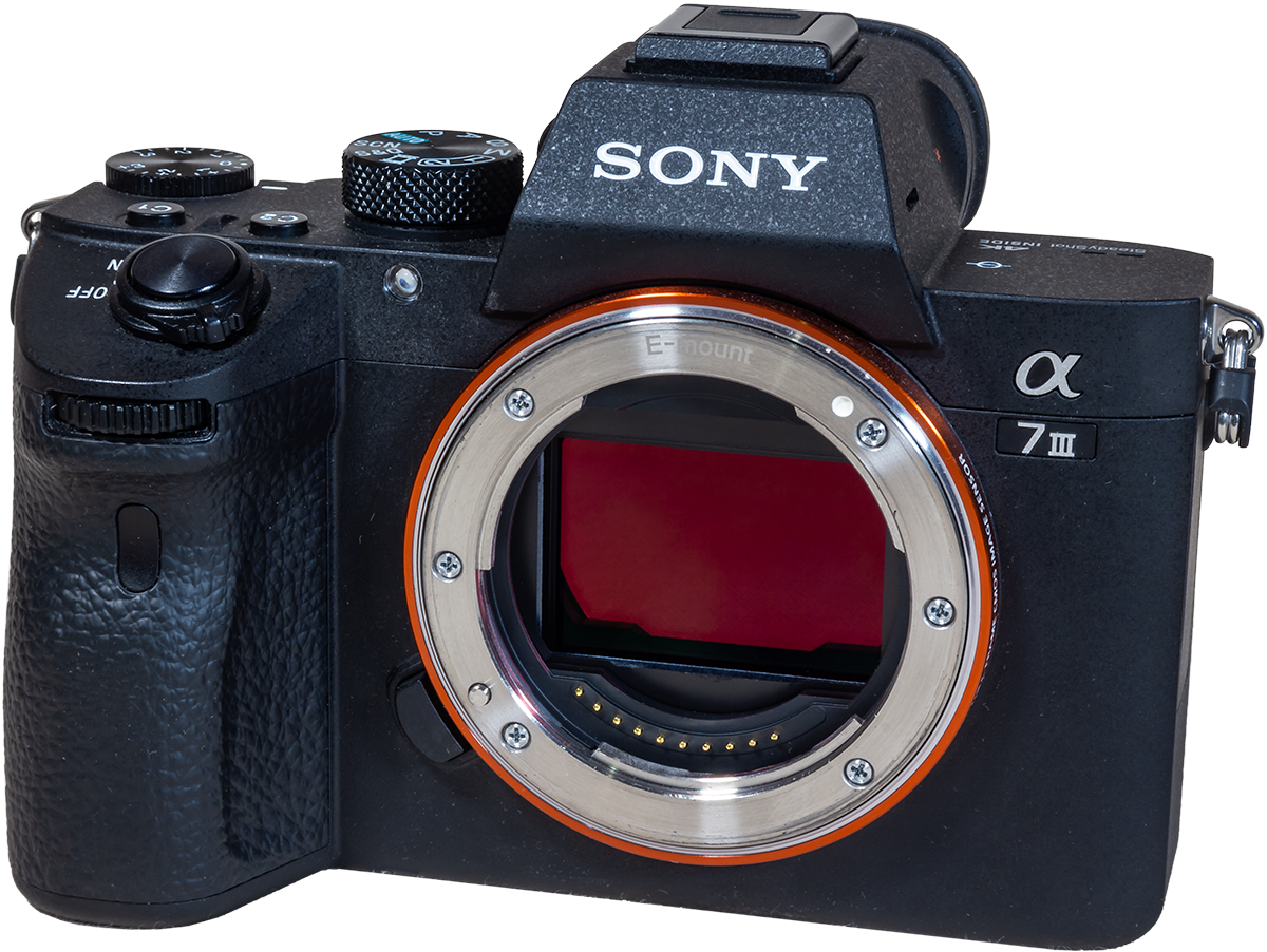Sony a7III - Angled Front