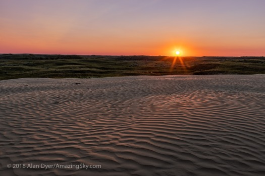 Sunset at Great Sandhills