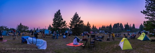 Twilight Panorama at SSSP 2018