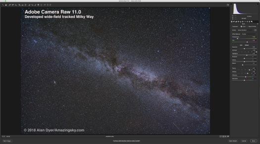 ACR-Tracked Milky Way