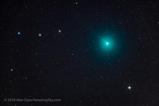 Comet Wirtanen / 46P on December 6, 2018
