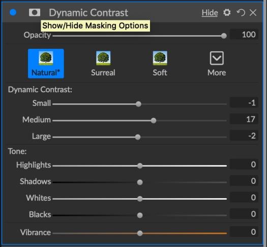 Dynamic Contrast