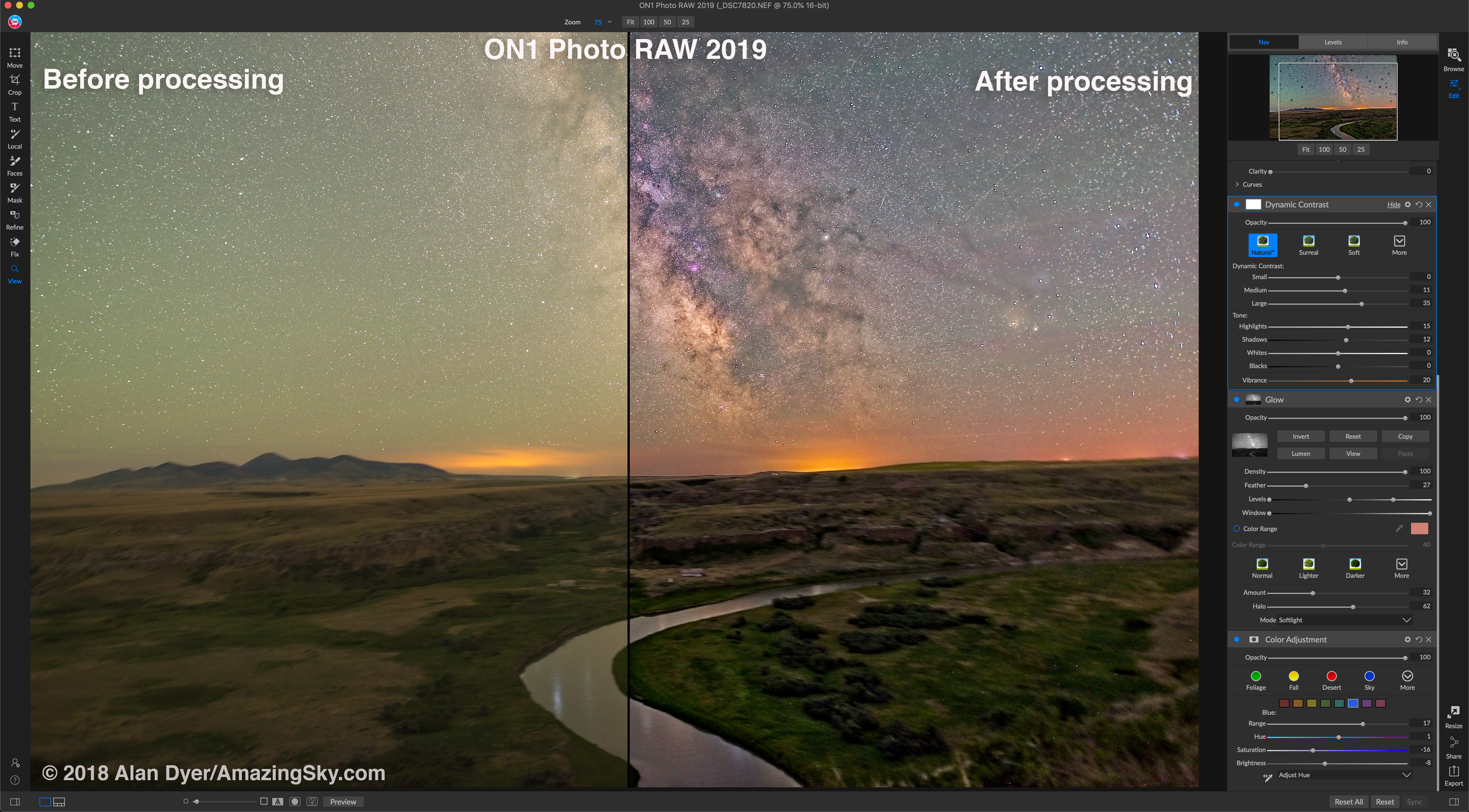ON1 Before and After Processing