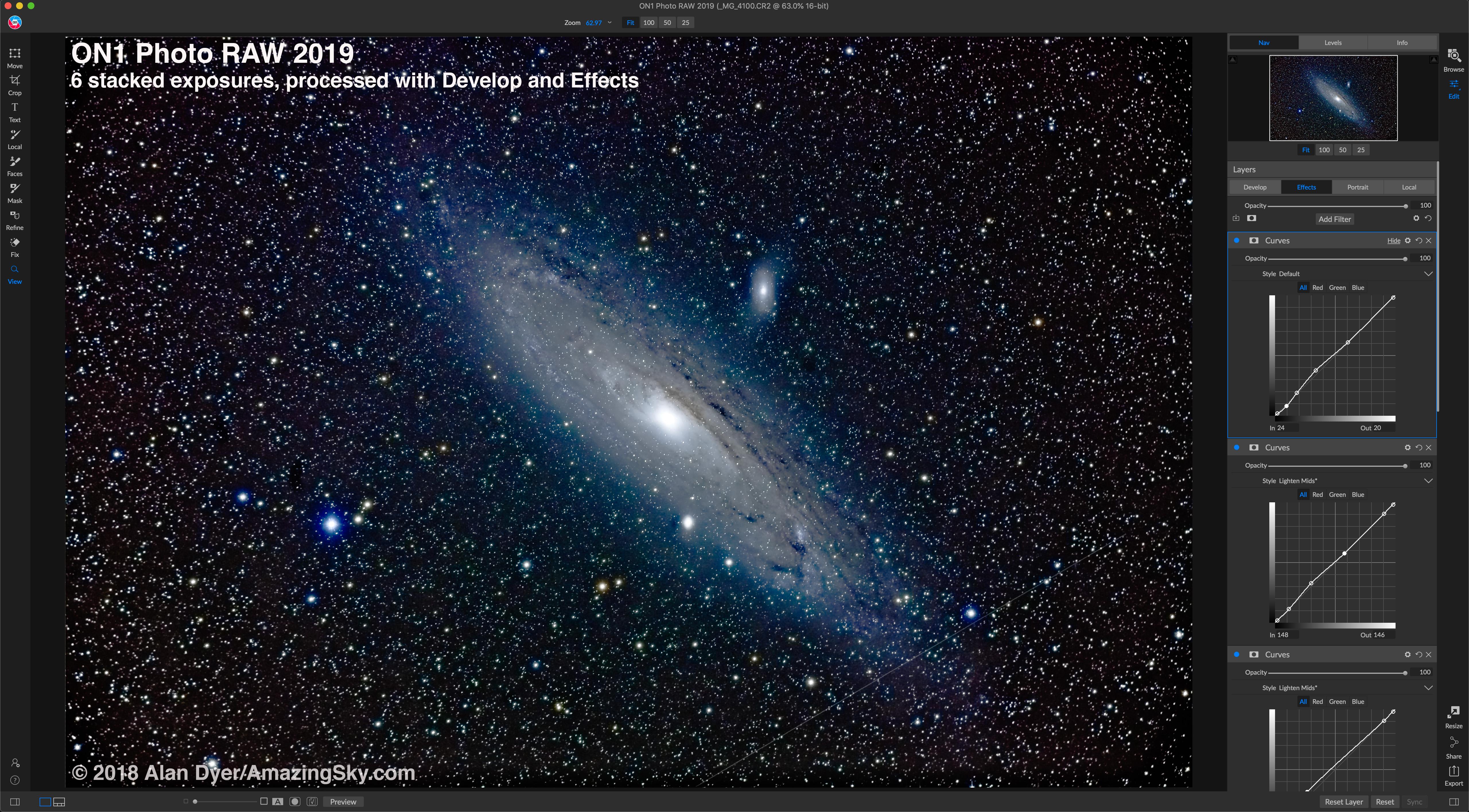 ON1 Processed M31