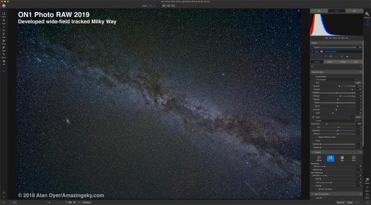 ON1-Tracked Milky Way