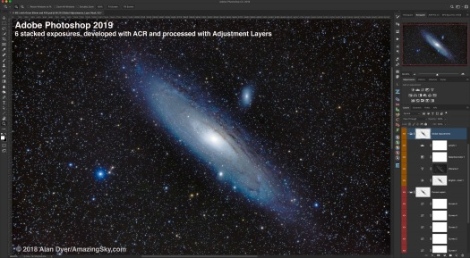 Photoshop Processed M31