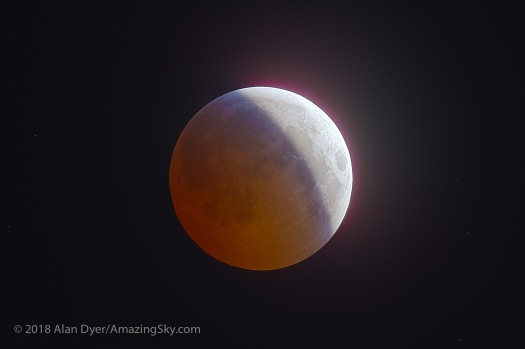 Total Lunar Eclipse, Dec 20, 2010 Partial HDR