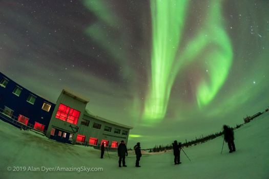 Aurora Group at Churchill Northern Studies Centre (Jan 31, 2019)