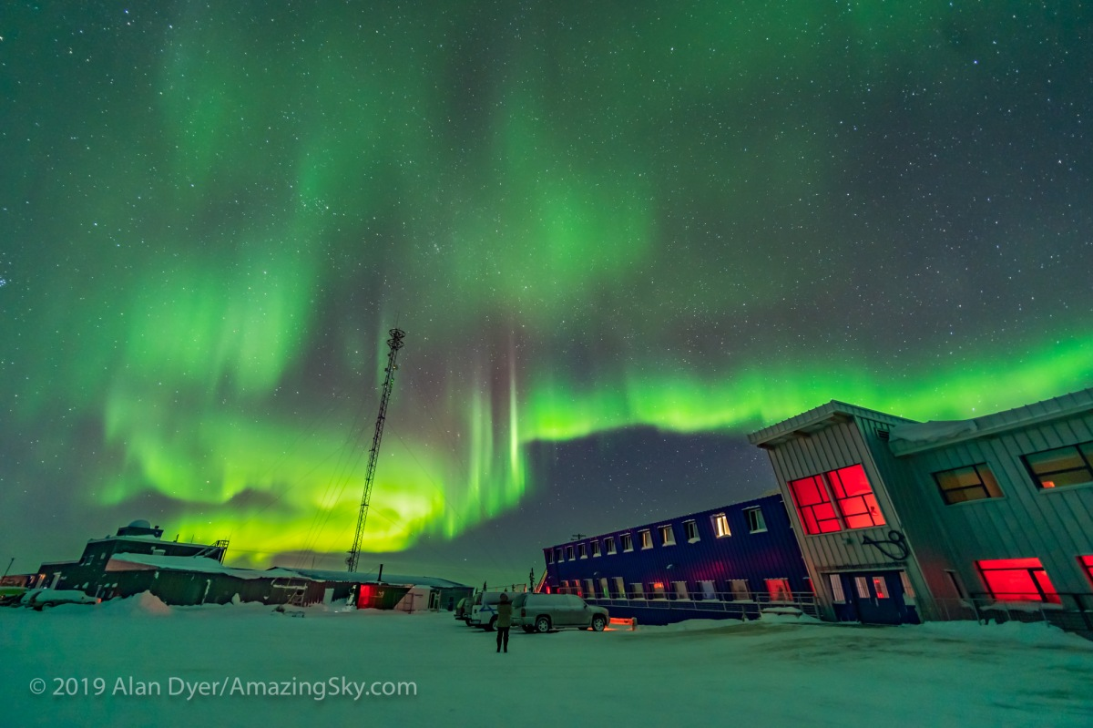 Non-Stop Northern Lights