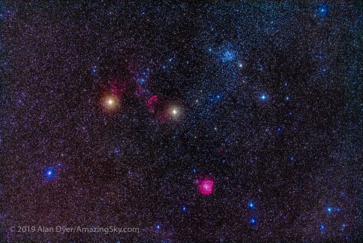 The Clusters and Nebulas of Gemini