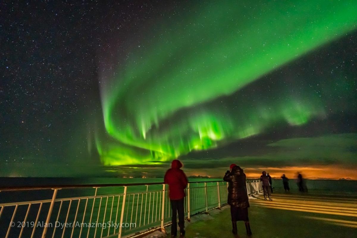 Auroras at Sea