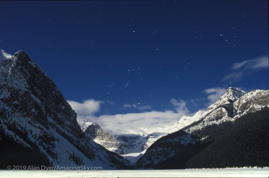 Orion Over Lake Louise, 1995