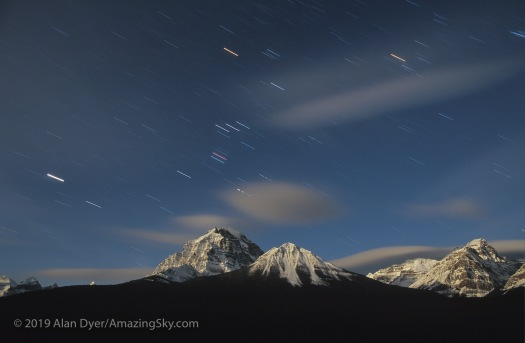 Orion Setting Over Mt Temple