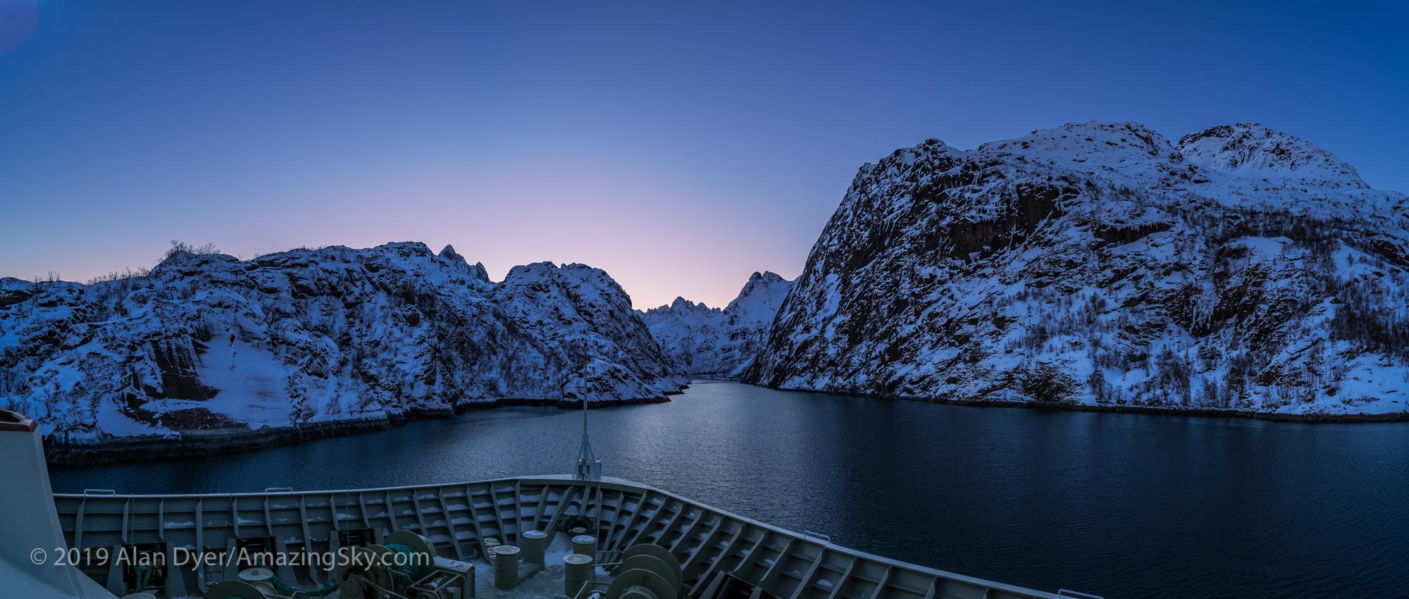 Trollfjord at Twilight
