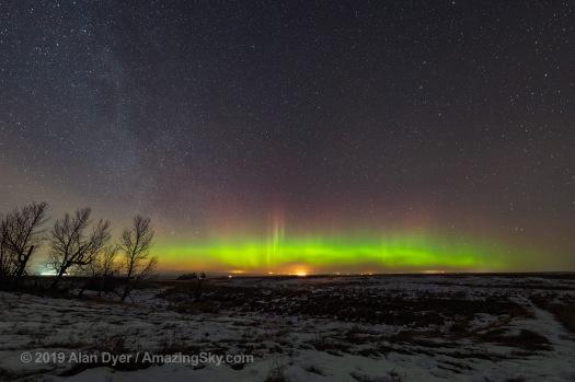 Auroral Arc (January 10, 2019)