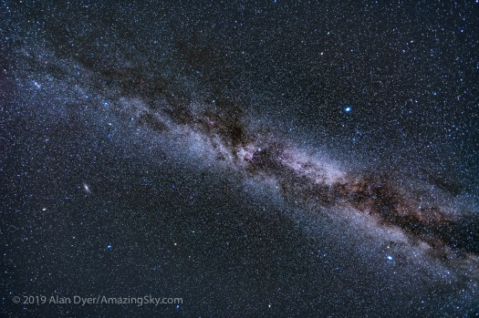 Sweep of the Autumn Milky Way