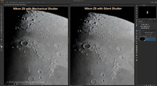 Comparison - Z6 Mech vs Silent Shutter