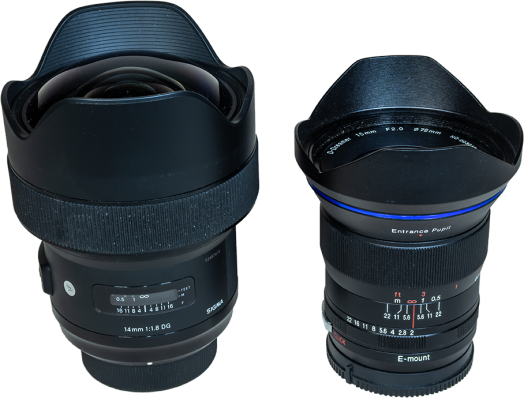 Sigma 14mm vs Laowa 15mm