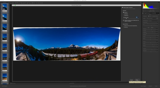 11B-Adobe Camera Raw Panorama