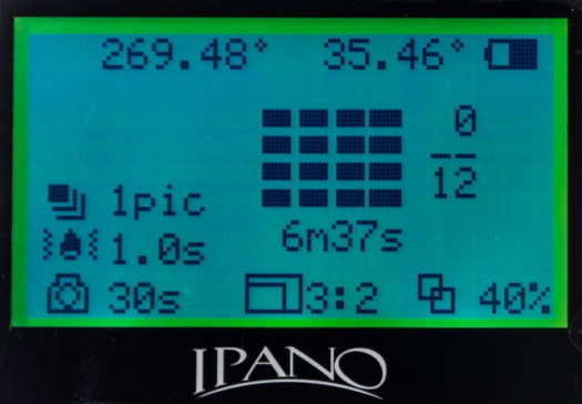 5B-iPano Screen-Shooting Info