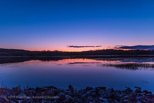 Sunset Twilight at Prosperous Lake