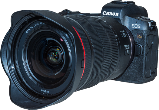 Canon EOS Ra and 15-35mm