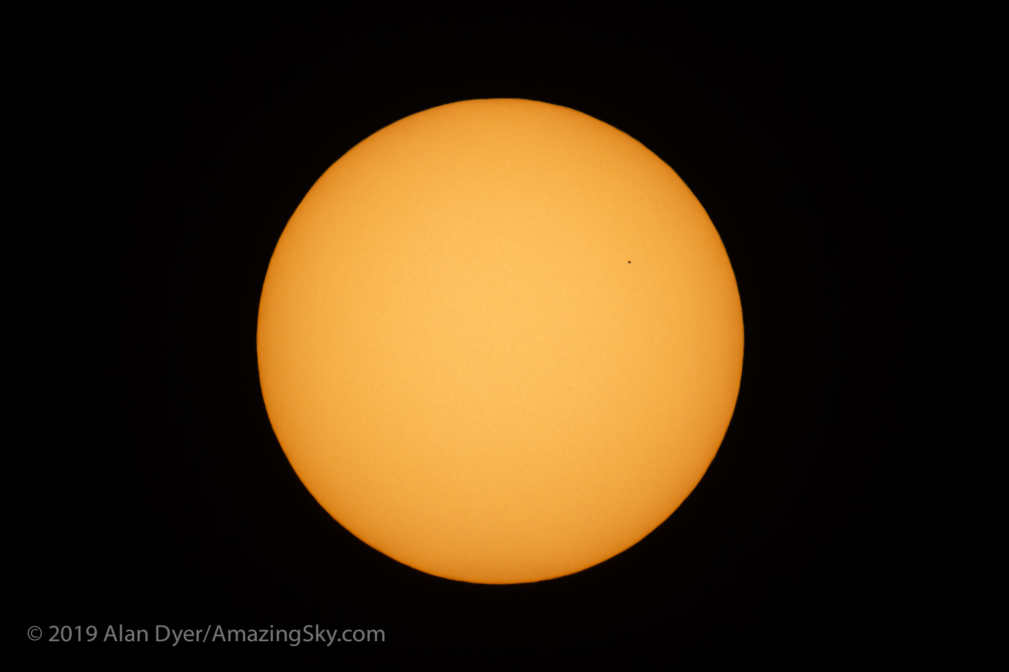 The Transit of Mercury Across the Sun (10 am MST)